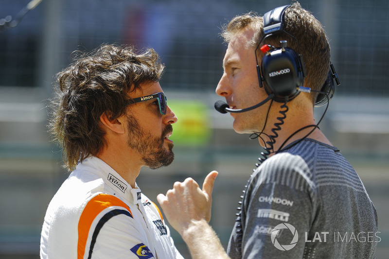Fernando Alonso, McLaren, Mark Temple, ingeniero de McLaren