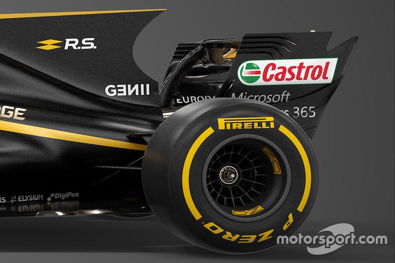 Renault Sport F1 Team RS17 detalle