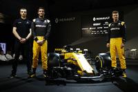 Jolyon Palmer, Renault Sport F1 Team and Nico Hulkenberg, Renault Sport F1 Team