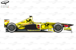 Jordan EJ11 side view