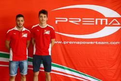 Antonio Fuoco and Charles Leclerc, Prema racing