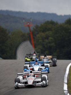 Will Power, Team Penske Chevrolet, Marco Andretti, Andretti Autosport Honda