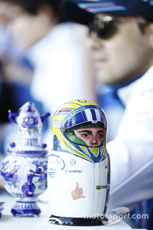 Felipe Massa, Williams, matryoshka Russian doll