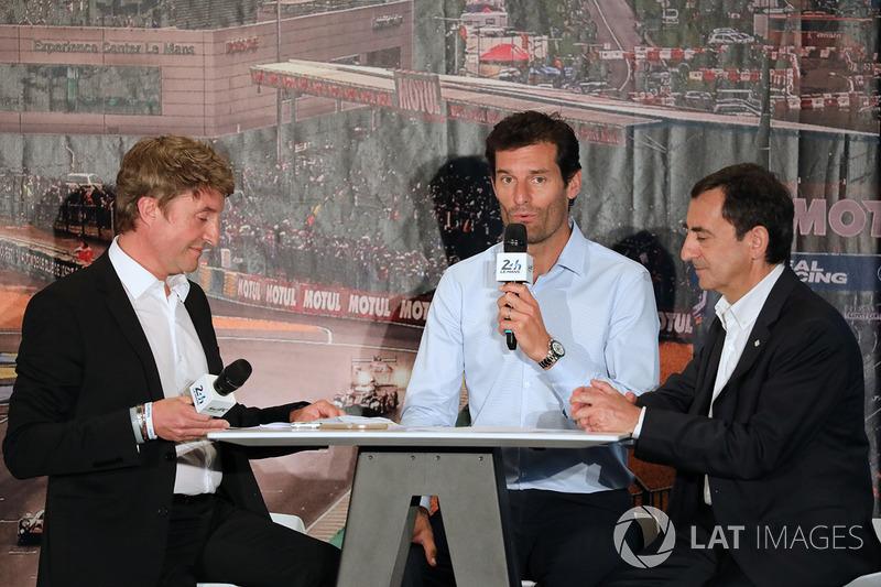 Bruno Vandestick, Pierre Fillon, ACO-Präsident, Mark Webber