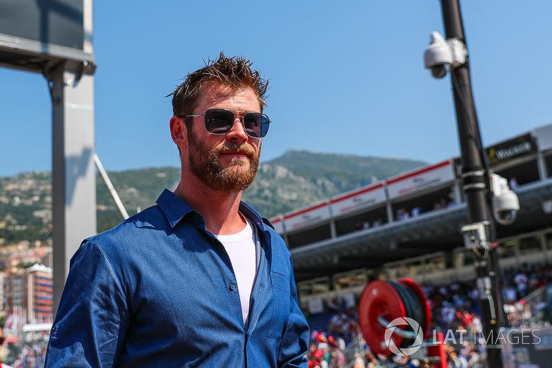Монако: актер Крис Хэмсуорт