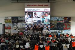 Silverstone Classic press conference