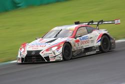 #1 Team Sard Lexus LC500: Kohei Hirate, Heikki Kovalainen