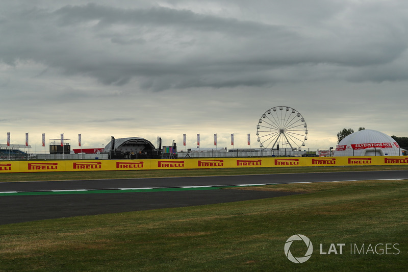 Riesenrad am Silverstone Circuit
