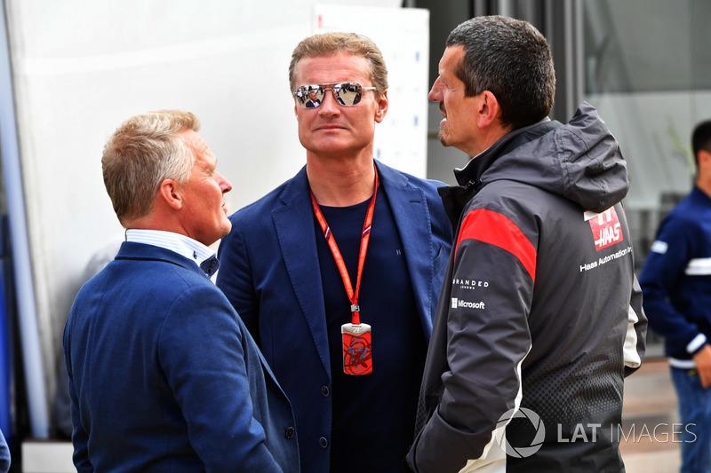 Johnny Herbert, Sky TV Sports F1, David Coulthard, Channel 4, Günther Steiner, Haas-Teamchef
