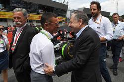 Frankie Dettori, Jean Todt, FIA President