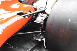 Ferrari SF70H: Hintere Bremsbelüftung