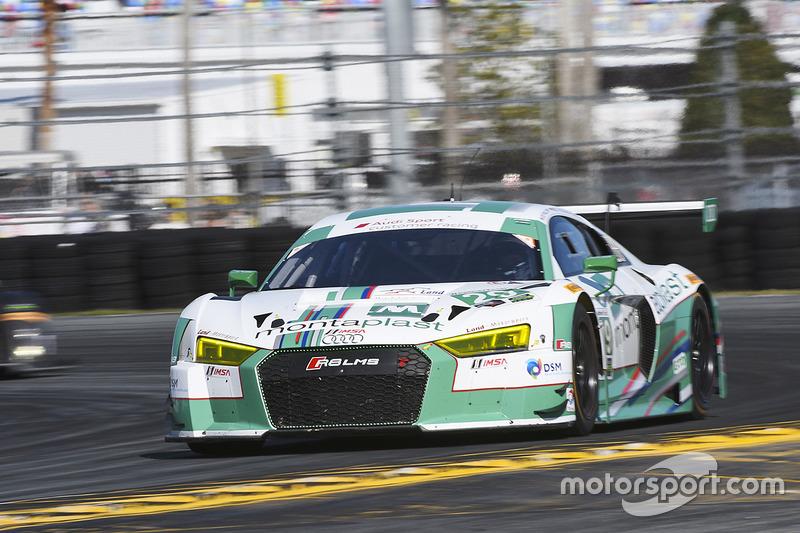 #29 Montaplast by Land-Motorsport Audi R8 LMS GT3: Connor de Phillippi, Christopher Mies, Jules Gounon, Jeffrey Schmidt