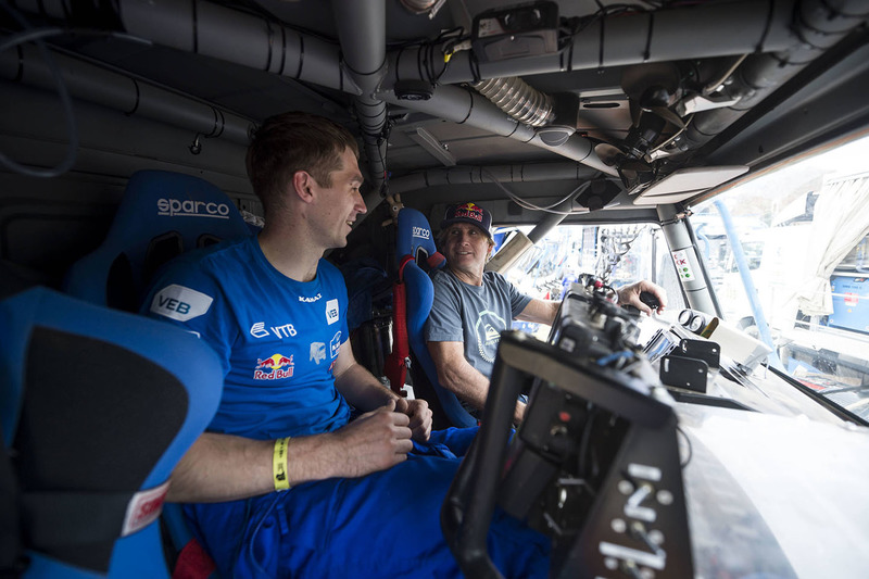 Robby Naish visits Kamaz Master Team