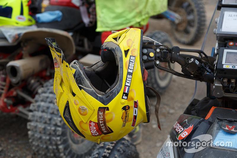 #267 Barren Racer: Kees Koolen helmet