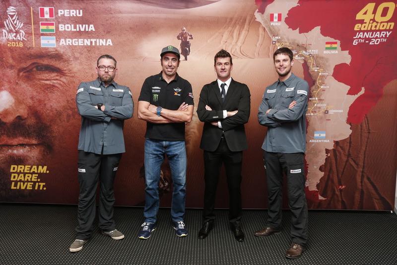 Tobias Henschel, Nani Roma, Marc Coma y Marcus Walcher