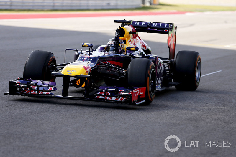 2013 - Остин: Себастьян Феттель, Red Bull-Renault RB9