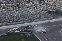 crash, Brandon Jones, Joe Gibbs Racing, Juniper Toyota Camry