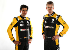 Гонщики Renault Sport F1 Team Карлос Сайнс-мл. и Нико Хюлькенберг