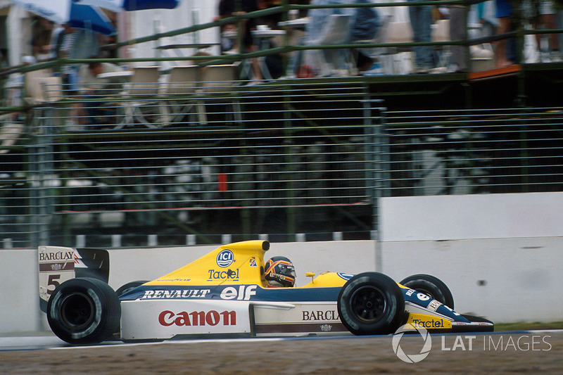1989: Williams FW13 Renault (2 победы, 2-е место в КК)
