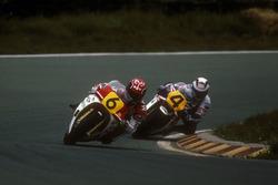 Randy Mamola and Wayne Gardner