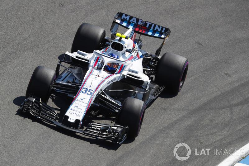 Sergey Sirotkin, Williams FW41.