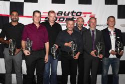 Les champions Suisse 2017 ont été honorés lors de la cérémonie d'Auto Sport Schweiz à Berne