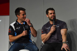 British GT racers Martin Plowman and Emmerdale actor Kelvin Fletcher talk to Henry Hope-Frost on the Autosport Stage