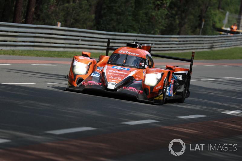 11. LMP2: #40 G-Drive Racing, Oreca 07 Gibson
