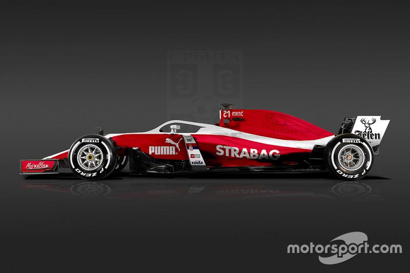 Formula 1 World Cup livery