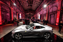 Atmosphere at the Ferrari dinner