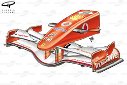 Ferrari 248 F1 (657) 2006 front wing and nose