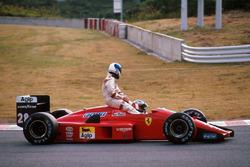 Герхард Бергер, Ferrari F1/87/88C, Дерек Ворік, Arrows