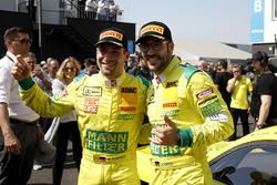 Sieger #47 HTP Motorsport Mercedes-AMG GT3: Maximilian Götz, Markus Pommer