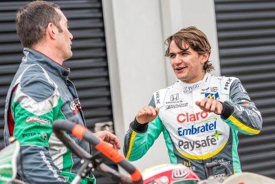Pietro Fittipaldi karting day