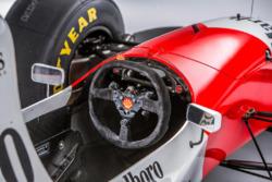 1993 McLaren-Cosworth Ford MP4/8A of Ayrton Senna, cockpit detail