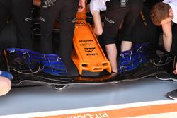 McLaren MCL33 burun ve ön kanat