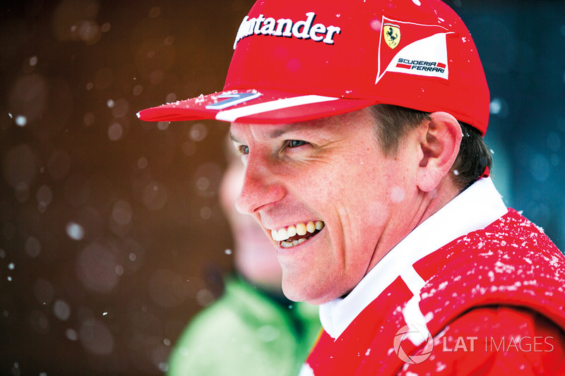 Kimi Raikkonen: a continuidade na F1