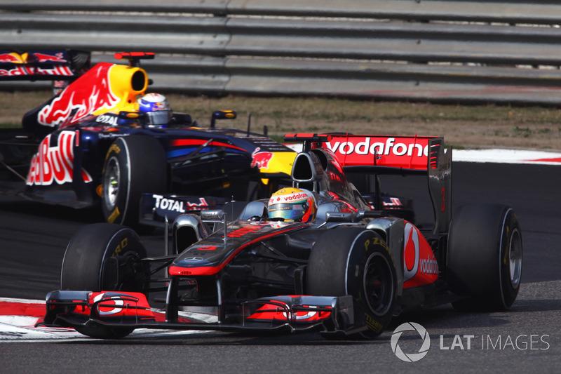 2011: Lewis Hamilton, McLaren-Mercedes MP4-26
