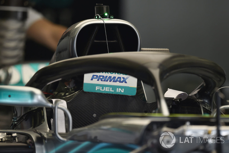 Mercedes-AMG F1 W09 EQ Power halo