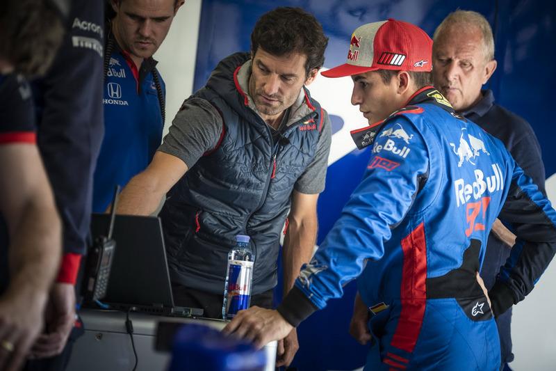 Mark Webber dan Marc Marquez