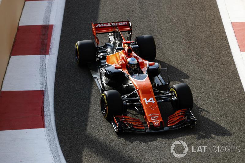 6. Fernando Alonso, McLaren (65 poin)