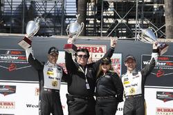 I vincitori Joao Barbosa, Filipe Albuquerque, Action Express Racing