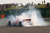 Себастьян Феттель, Ferrari SF71H: разворот после столкновения с Максом Ферстаппеном, Red Bull Racing RB14