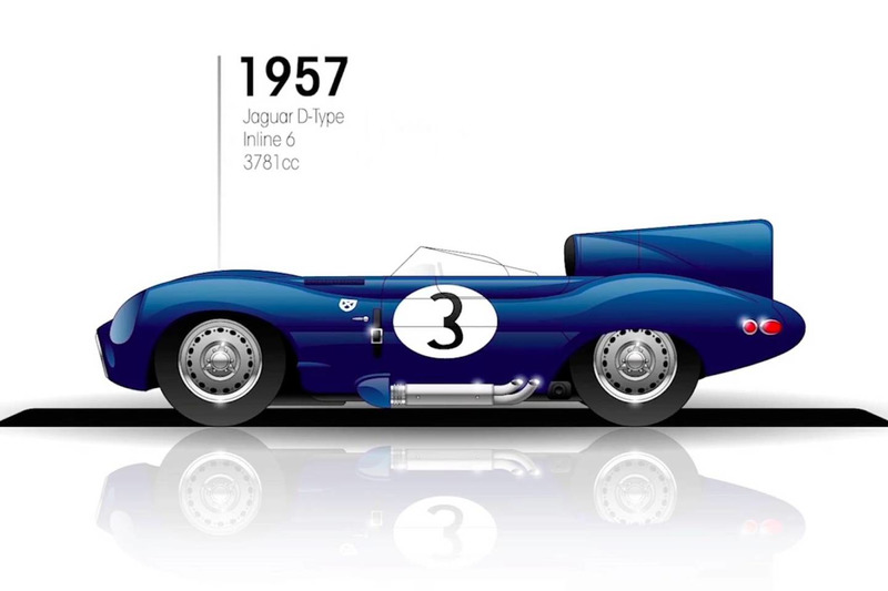 1957: Jaguar D-Type