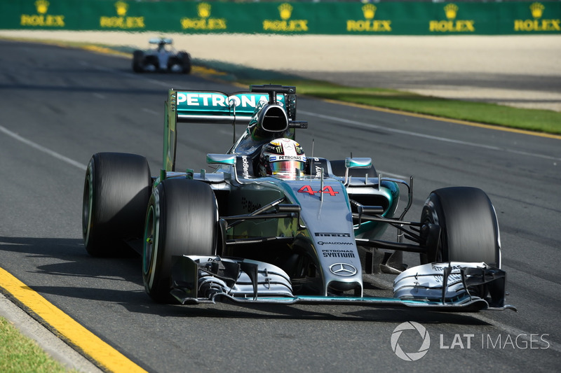 2015. Переможець: Льюіс Хемілтон, Mercedes AMG F1 W06
