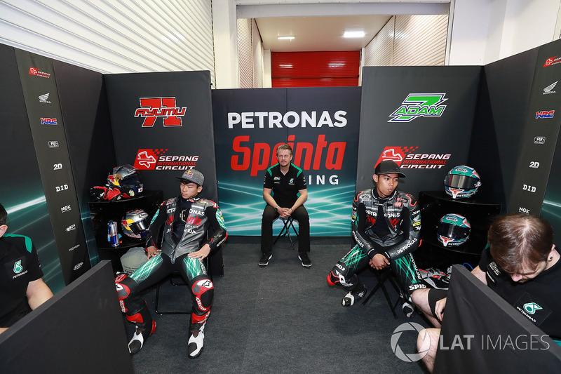 Ayumu Sasaki, Petronas Sprinta Racing, Johan Stigefelt, Adam Norrodin, Petronas Sprinta Racing