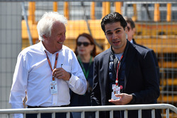 Charlie Whiting, FIA Delegate and Arif Rahimov, Baku Street Circuit Promoter