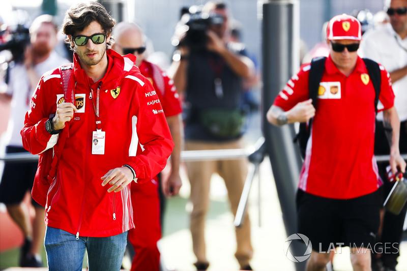 Antonio Giovinazzi, Ferrari