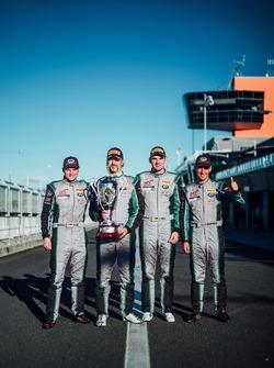 Тим Паппас, Йерун Блекемолен, Лука Штольц, Марк Либ, Black Swan Racing, Porsche 911 GT3 R (№540)