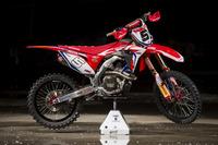 La moto de Brian Bogers, Team HRC